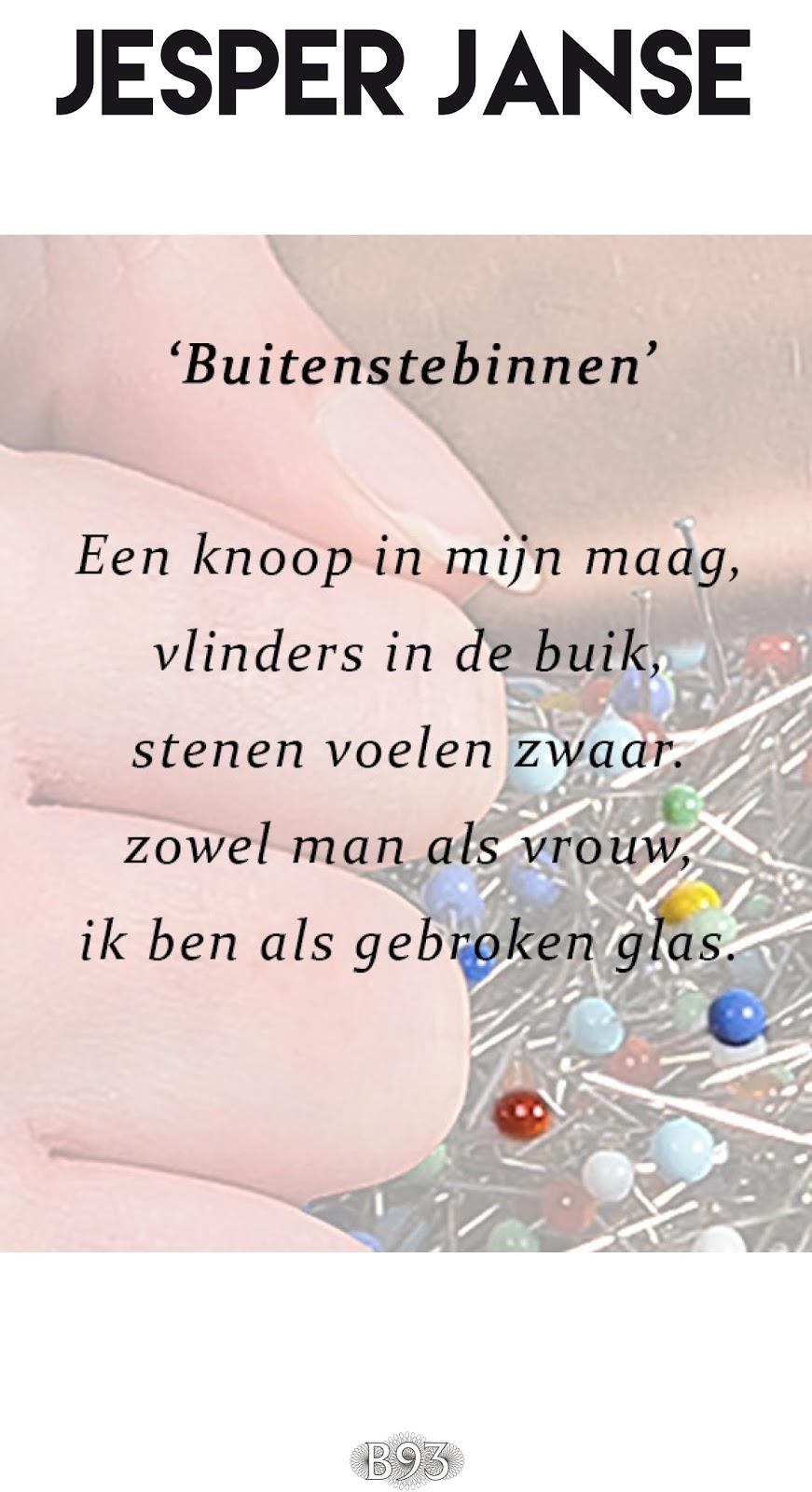 Carte Blanche – Buitenstebinnen – Jesper Janse