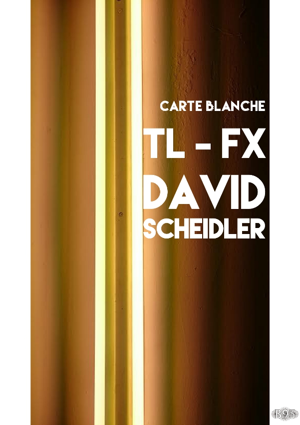 Carte Blanche – TL-FX – David Scheidler