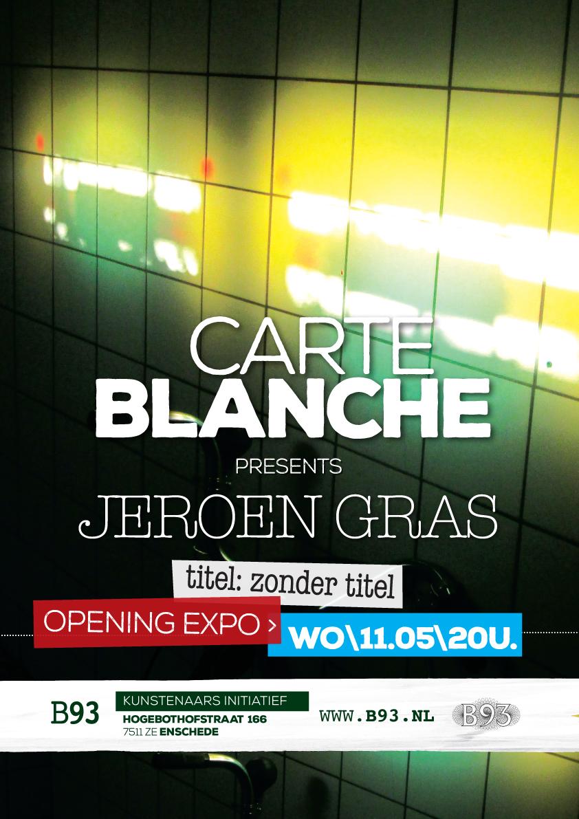 Carte Blanche – Jeroen Gras