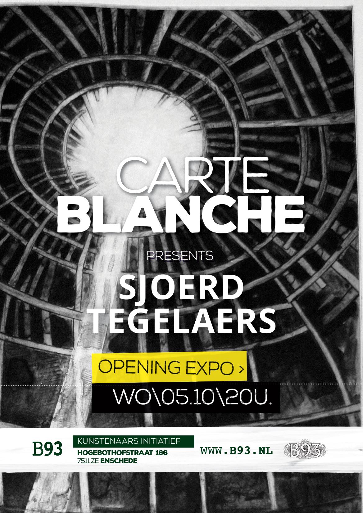 Carte Blanche – Sjoerd Tegelaers