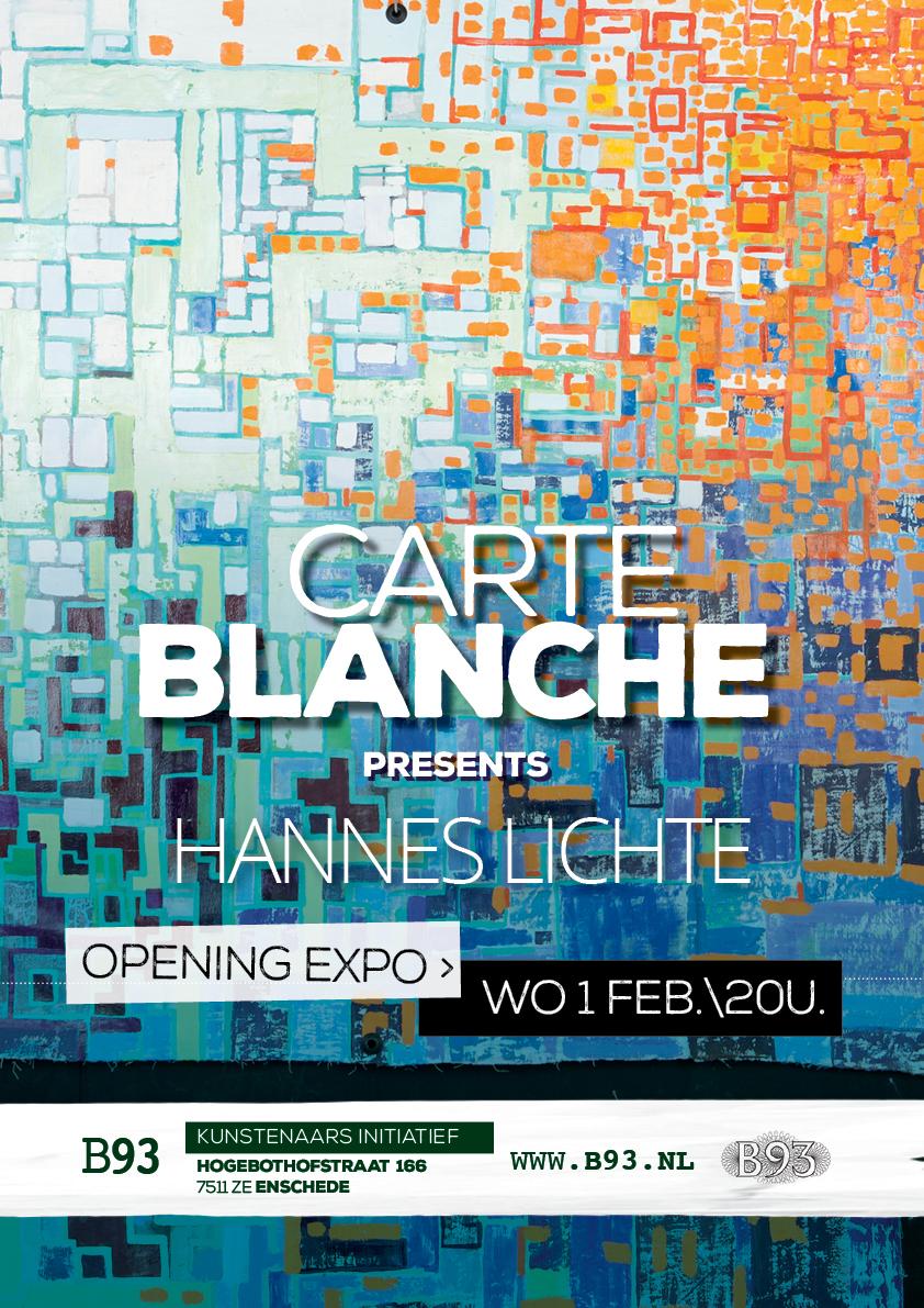 Carte Blanche – Hannes Lichte