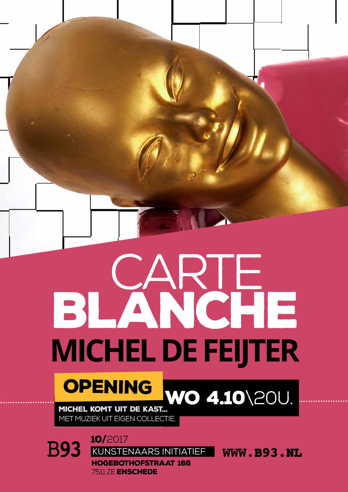 Carte Blanche – Michel de Feijter