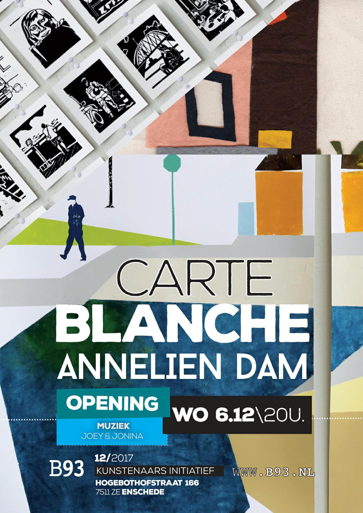 Carte Blanche – Annelien Dam