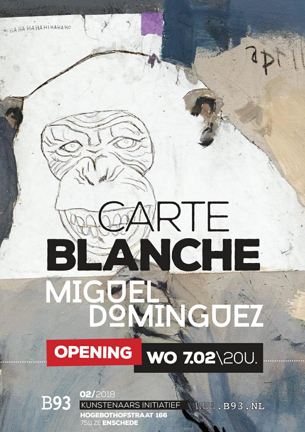 Carte Blanche – Miguel Dominguez