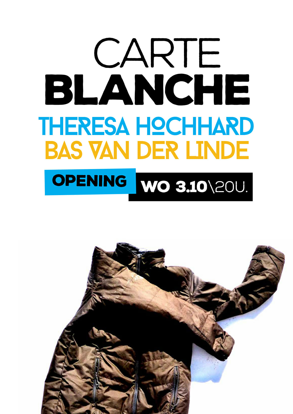 Carte Blanche – Theresa Hochhard & Bas van der Linde