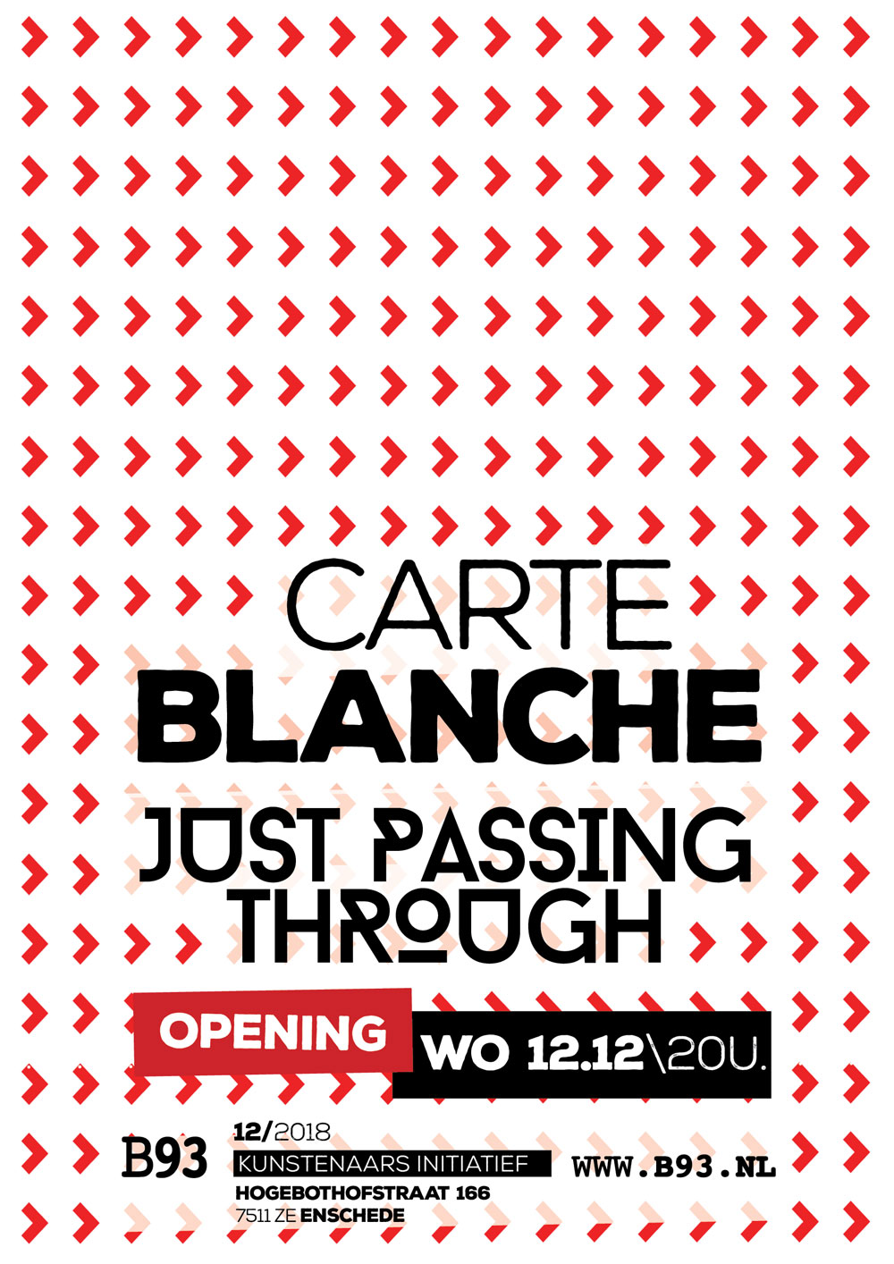Carte Blanche – Just Passing Through