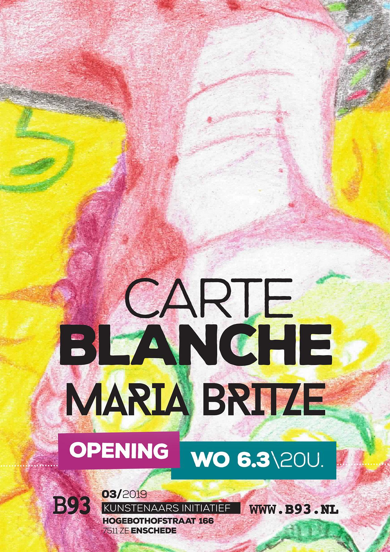 Carte Blanche – Maria Blitze